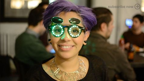 Celebration Spectacles with NeoPixel Rings