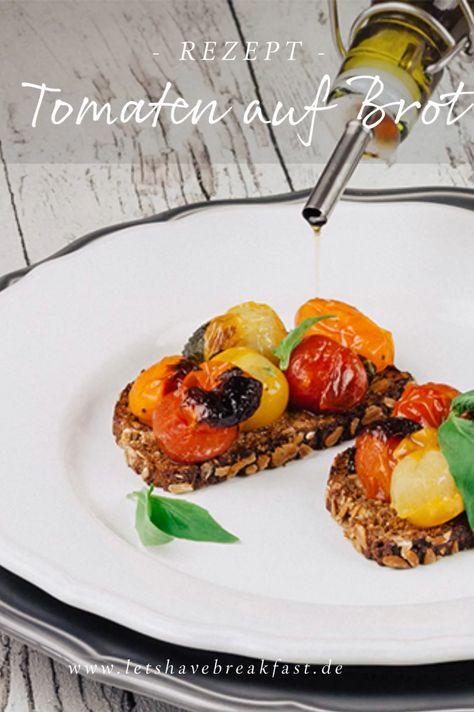 Das ultimative Tomatentoast mit gerösteten Tomaten und Olivenöl