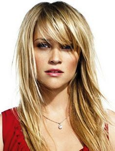 Party Hairstyles For Long Blonde Hair Straight With Side Bangs Bangs With Medium Hair Haircuts For Long Hair Hair Lengths