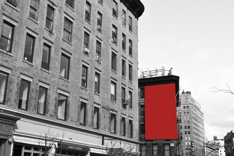 Color Block Photos of billboards replaced by... | The Khooll