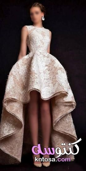 اجمل فساتين سهرة و اكثرها اناقة Dresses Fashion High Low Dress