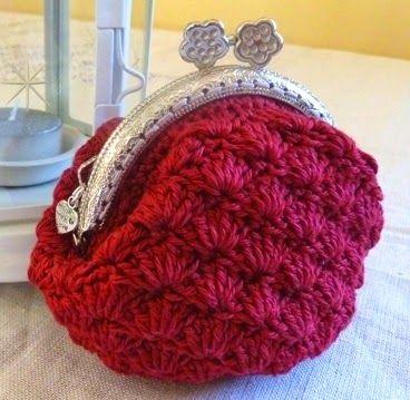 Tutoriales DIY Cómo hacer un monedero de crochet vía DaWanda