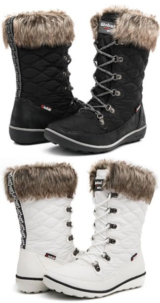 Winter Outfits - Casual Snow Boots for