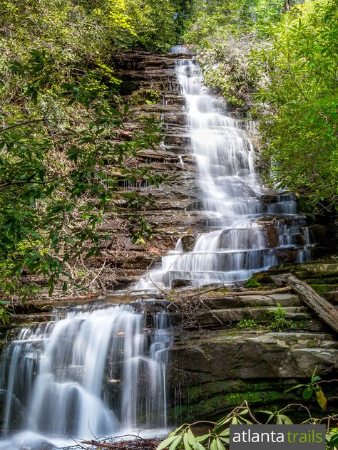 Angel Falls Trail: Hiking Lake Rabun Beach Campground to Panther Falls and Angel Falls