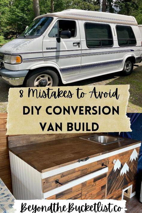 Bus Conversion, Van Conversion Layout, Diy Interior, Ford Interior, Bathroom Interior, Diy Bed, Diy Camper, Camper Life, Travel Camper