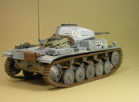 German Panzer IIA LT