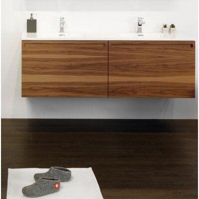 Wetstyle Element Raffine 60 Wall Mounted Double Bathroom Vanity