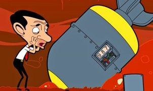 Mr Bean Bean Finds A Bomb Dailymotion Mr Mr Bean Something To Do