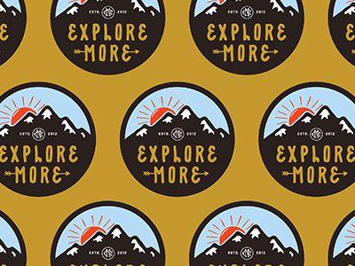 Explorer More - Sticker.
