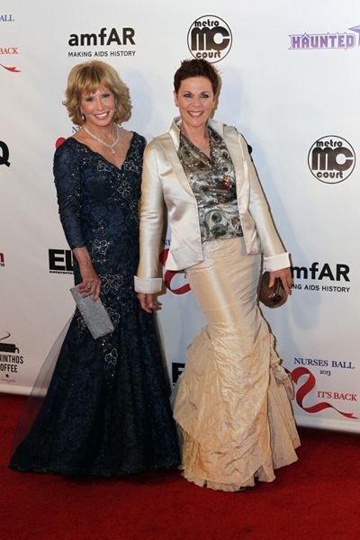 Leslie Charlson & Jane Elliott - 2013 General Hospital Nurses Ball