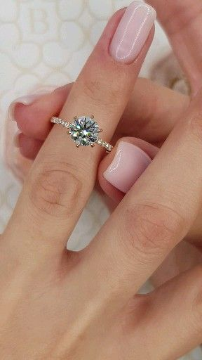 Rose Gold Accented Prongs