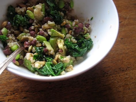Quinoa, avocado, kale -- looks delicious AND so healthy!