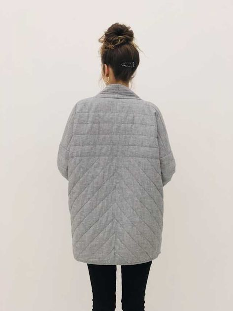 Post with 78 votes and 2591 views. Shared by sarahbytheseashore. Jacket Pattern, Sewing Clothes, Autumn Winter Fashion, Mantel, What To Wear, At Least, Style Inspiration, My Style, Quilted Jacket Outfit
