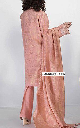 Tea Pink Jacquard Suit Buy Pakistani Indian Dresses 786shop Com Dresses Fashion Dresses Fashion