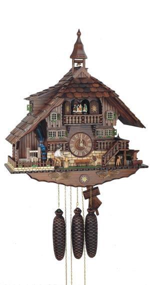 Sc 8tmt 1071 9 Reloj De Cuco Relojes De Pared Antiguos Estilo Chalet