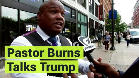 """This is a really exciting time for the Donald Trump campaign,"" Pastor Mark Burns told Breitbart's Washington Political Editor Matthew Boyle on Monday's Breitbart News Daily on SiriusXM."