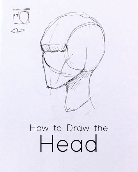 How To Draw The Head From Any Angle Pdf Worksheets Jeyram