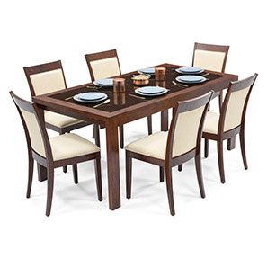 15+ Glass top dining table set online Trending