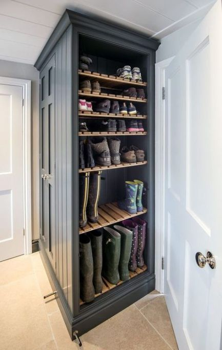 39 Trendy How To Build A Corner Cabinet Shoe Racks Build Corner Cabinet An Man Build Cabinet Corner Man In 2020 Schuhregal Eckschrank Aufbewahrung Ideen