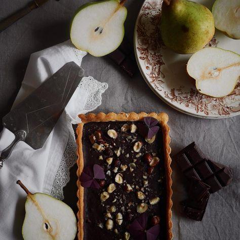 Tarte Au Chocolat Et Eclats De Noisettes Recette Du Cap Cuisine