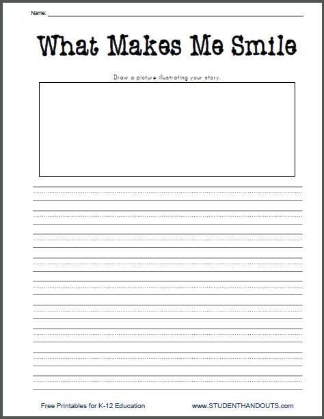 Writing Worksheets | Free Printable Writing Prompt Worksheet for ...