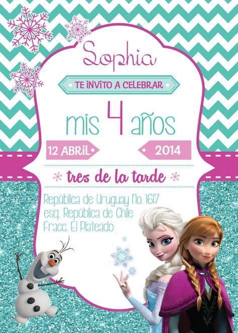 Invitacion Cumpleaños Invitaciones De Cumpleaños