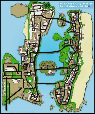 GTA Vice City Map GTA Vice City Map GTA Vice City Map GTA Vice City