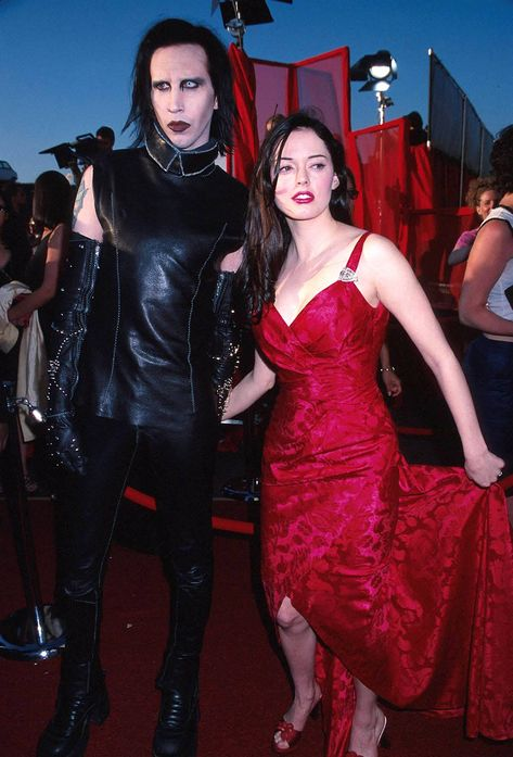 Marilyn Manson and Rose McGowan, 1999