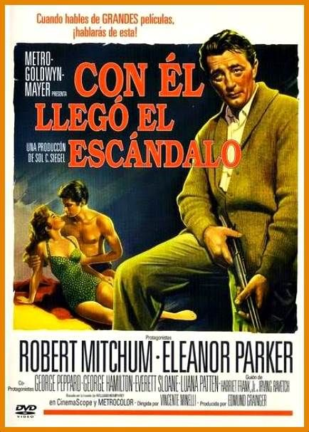 Con él Llegó El Escándalo 1960 Dual Subttulos Carteles De Cine George Peppard Carteles De Películas