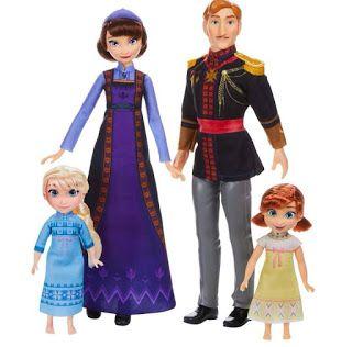 Nuevas Muñecas De Frozen 2 Muñecas De Frozen Frozen Princesas Disney