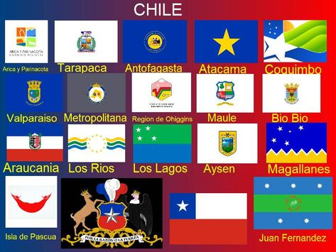 Chile Regiones Historical Flags Flag Logo Flags Of The World