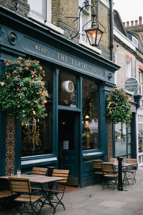 Official website of Niomi Smart. Café Exterior, Design Exterior, Cafe Shop Design, Cafe Interior Design, Pub Interior, Decoration Restaurant, Restaurant Design, Hampstead London, London Guide