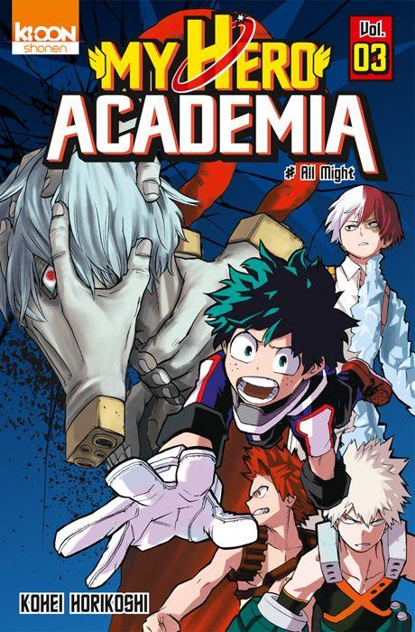 My Hero Academia Tome 3 My Hero Academia Manga Manga Covers Boku No Hero Academia