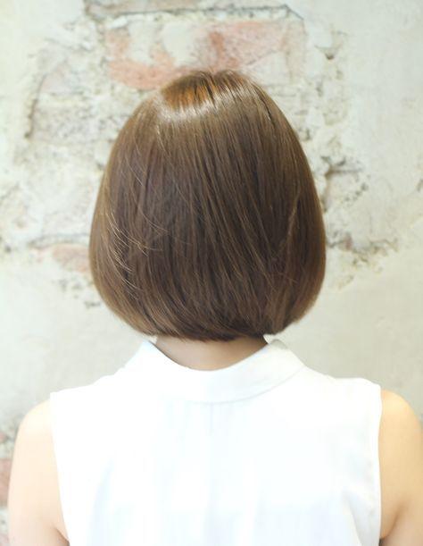 ストレートボブ髪型 Ke 378 ヘアカタログ 髪型 ヘアスタイル