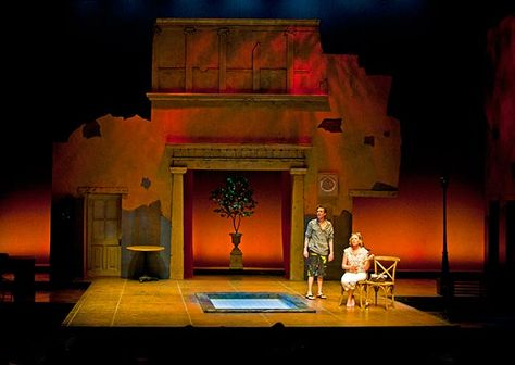 The Comedy of Errors A Noise Within Scenic design by Kurtis - scenic carpenter sample resume