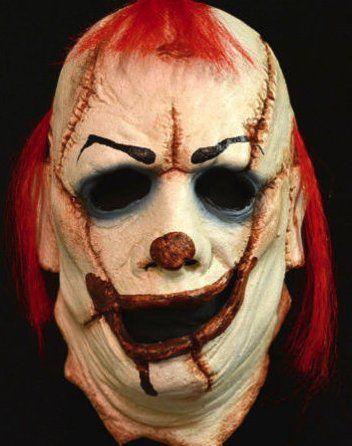 Horror Clown Mask Halloween Scary Clowns Fancy Dress Mask Goary Latex Mask