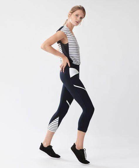 e0180a25626f1 DEPORTE - Pantalones - Ver Todo - Rebajas de Invierno en moda de mujer en  Oysho online  ropa interior