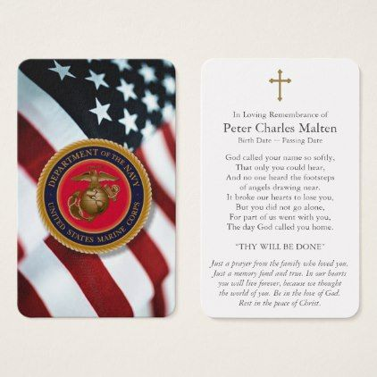 Patriotic Prayer Cards American Flag Navy Seal Thank You Gifts