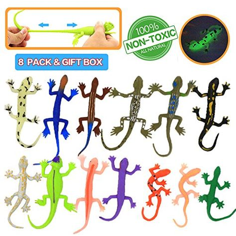 6 PACK Frog Toys,4.5 Inch Assorted Rubber Frog sets ,Food Grade Material TPR