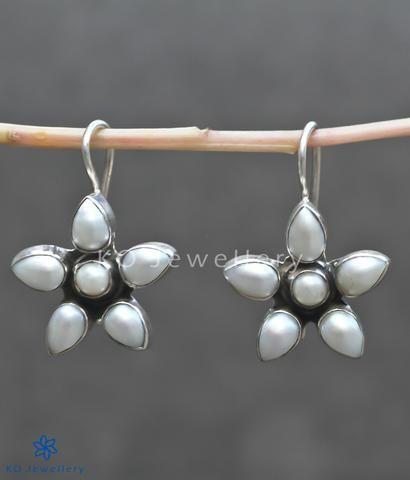 Office Wear Silver Earrings Online In India