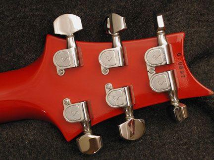 1986 low-serial number headstock. | Prs guitar, Paul reed