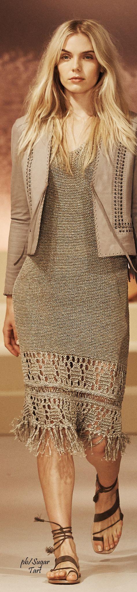 Elie Tahari Spring 2016 RTW women fashion outfit clothing style apparel @roressclothes closet ideas
