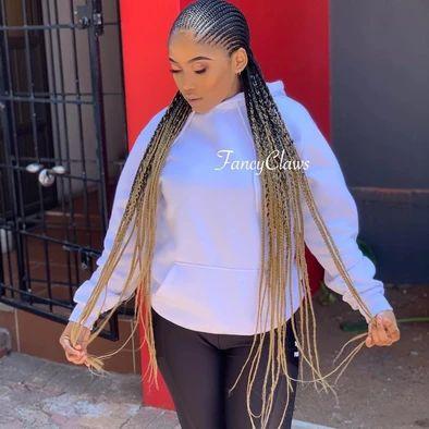 Small Cornrows, Cornrows Braids For Black Women, Braided Hairstyles For Black Women, Black Girl Braids, Braids For Black Hair, Girls Braids, Long Cornrows, Braids Hairstyles Pictures, Cool Braid Hairstyles