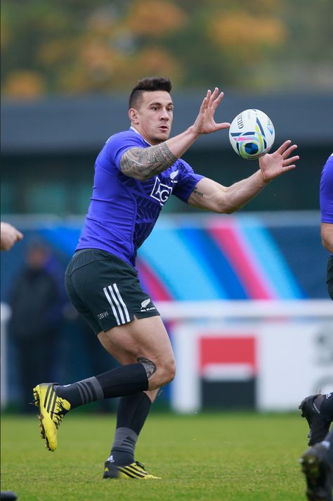 Footy Players: Sonny Bill Williams of the All Blacks