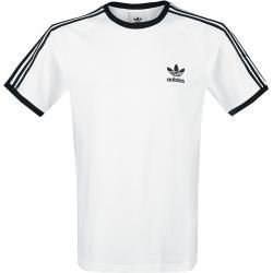 Adidas 3 Stripes Tee Herren T Shirt Weiss Schwarz Adidas 3stripes Adidas Herrentshirt Schwarz Tee Weiss In 2020 Shirts Striped Tee Adidas