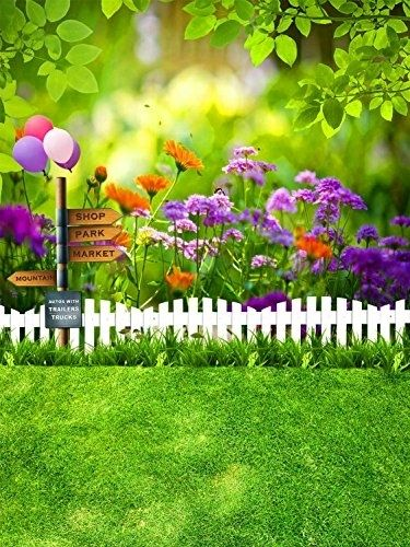 White Wood Fence Flowers Garden Backdrop For Photography 5x7ft Photo Background Studio Props In 2021 Background For Photography Photoshop Backgrounds Free Photography Backdrops Backdrop studio garden background hd