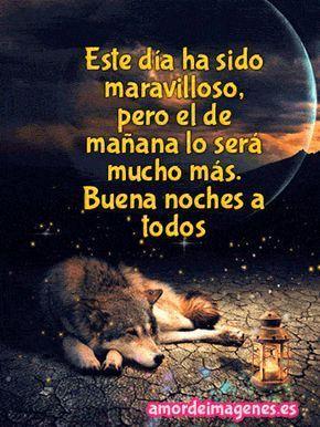 Imagenes En Movimiento De Buenas Noches Amor Lobo Con Imagenes