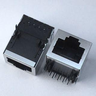 Ingke Technology Ykju 8288nl Rj45 Magnetic Connector 10 100base T M Rj45 Connector Graphic Card