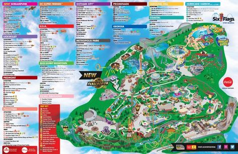 Six Flags Ober Georgia Map Pdf File Downlaod Hours Ticket Attractions Official Website Access Directions Parking Theme Park In Atlant Georgia Map Map Six Flags