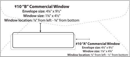 10 Window Envelope Template Http Www Valery Novoselsky Org 10 Window Envelope Template 93 Html